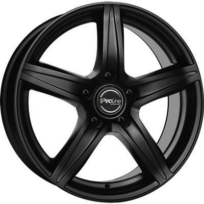 "alu kola PROLINE CX200 schwarz Black Matt 6,5x16"" 5x105 ET38 56,6"