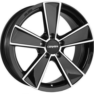"alu kola CARMANI CA10 black-polish 7,5x17"" 5x112 ET47 66,6"