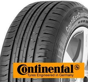 CONTINENTAL contiecocontact 5 165/60 R15 77H TL, letní pneu, osobní a SUV