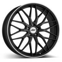 "alu kola AEZ Crest dark Gunmetal matt/polished lip 7,5x17"" 5x114,3 ET38 71,6"