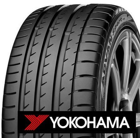 YOKOHAMA advan sport v105s 255/40 R17 98Y TL XL ZR RBP, letní pneu, osobní a SUV