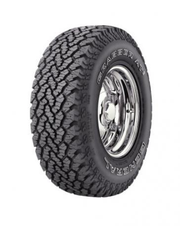 GENERAL TIRE grabber at2 285/75 R16 121R TL LT M+S 3PMSF OWL, celoroční pneu, osobní a SUV