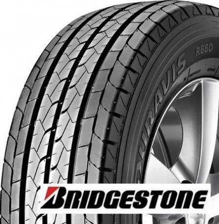 BRIDGESTONE duravis r660 195/75 R16 107R TL C 8PR, letní pneu, VAN