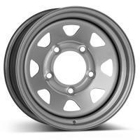 """alu kola DOTZ Dakar Silver 7x15"""" 5x114,3 ET5 71,6"""