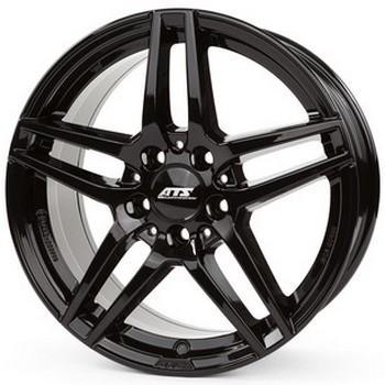 """alu kola ATS MIZAR black - černé 6,5x16"""" 5x112 ET49 66,5"""