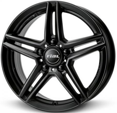 """alu kola RIAL M10X racing-schwarz - černé 7,5x17"""" 5x112 ET53 66,5"""