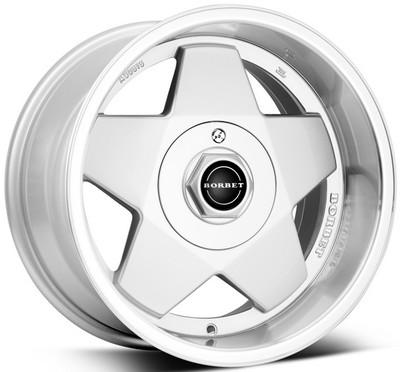 "alu kola BORBET a silver polished 7x15"" 5x120 ET35 72,5"