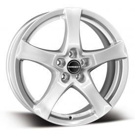 "alu kola BORBET F silver - stříbrná 6,5x16"" 5x112 ET50 72,5"