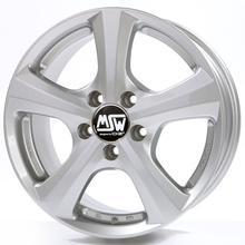 "alu kola MSW 19 FS - stříbrné 7,5x16"" 5x112 ET45 66,46"