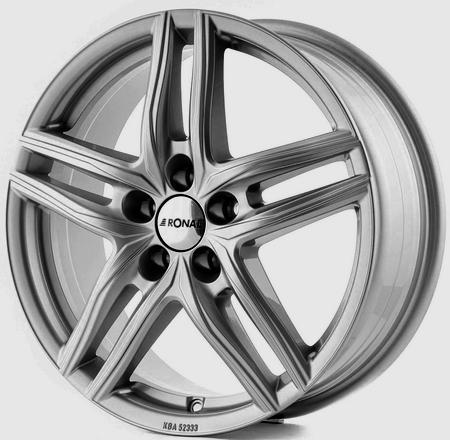 "alu kola RONAL R65 silver - stříbrné 6,5x17"" 5x112 ET35 76"