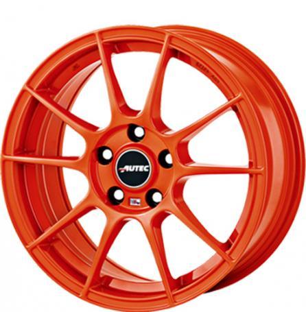 "alu kola AUTEC WIZARD ORANGE Racing orange 7x16"" 5x112 ET48 70"