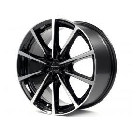 """alu kola BORBET BL5 black polish black polished 7x16"""" 5x114,3 ET40 72,5"""
