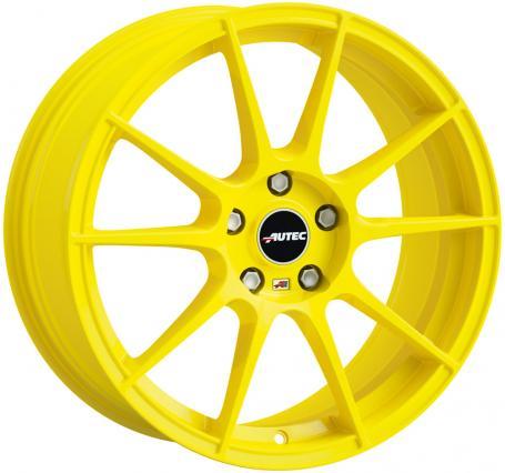 "alu kola AUTEC WIZARD YELLOW (W) Atomic Yellow 6,5x15"" 5x108 ET45 70"