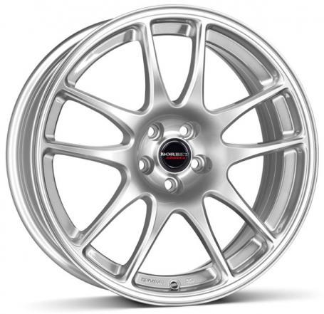 "alu kola BORBET RS silver brilliant silver 7x17"" 4x100 ET35 64"