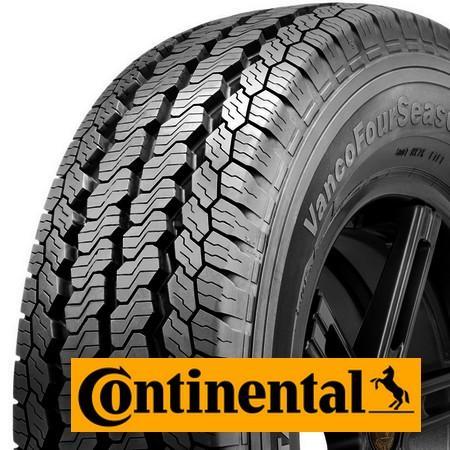 CONTINENTAL vanco four season 195/75 R16 107R TL C 8PR M+S, celoroční pneu, VAN