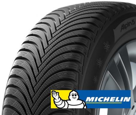 MICHELIN alpin 5 225/45 R17 91V TL ZP ROF M+S 3PMSF FP, zimní pneu, osobní a SUV