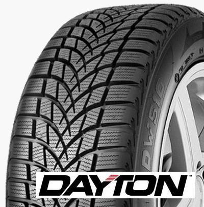 DAYTON dw510e 195/55 R16 87H TL M+S 3PMSF FR, zimní pneu, osobní a SUV