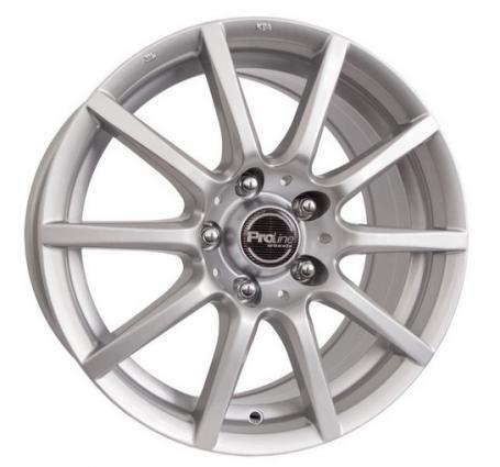 """alu kola PROLINE CX100 stříbrné 7x16"""" 4x108 ET18 65,1"""