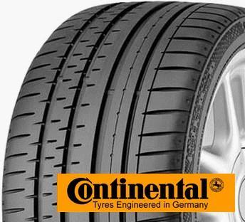 CONTINENTAL conti sport contact 2 255/35 R20 97Y TL XL ZR FR, letní pneu, osobní a SUV