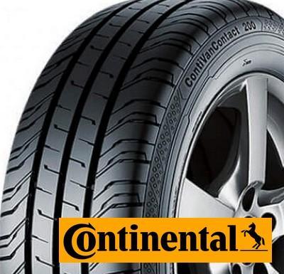 CONTINENTAL van contact 200 215/60 R17 109T TL C 8PR, letní pneu, VAN
